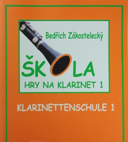 noty Škola hry na klarinet I - Zákostelecký, Bedřich