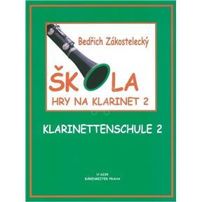 noty Škola hry na klarinet II - Zákostelecký, Bedřich