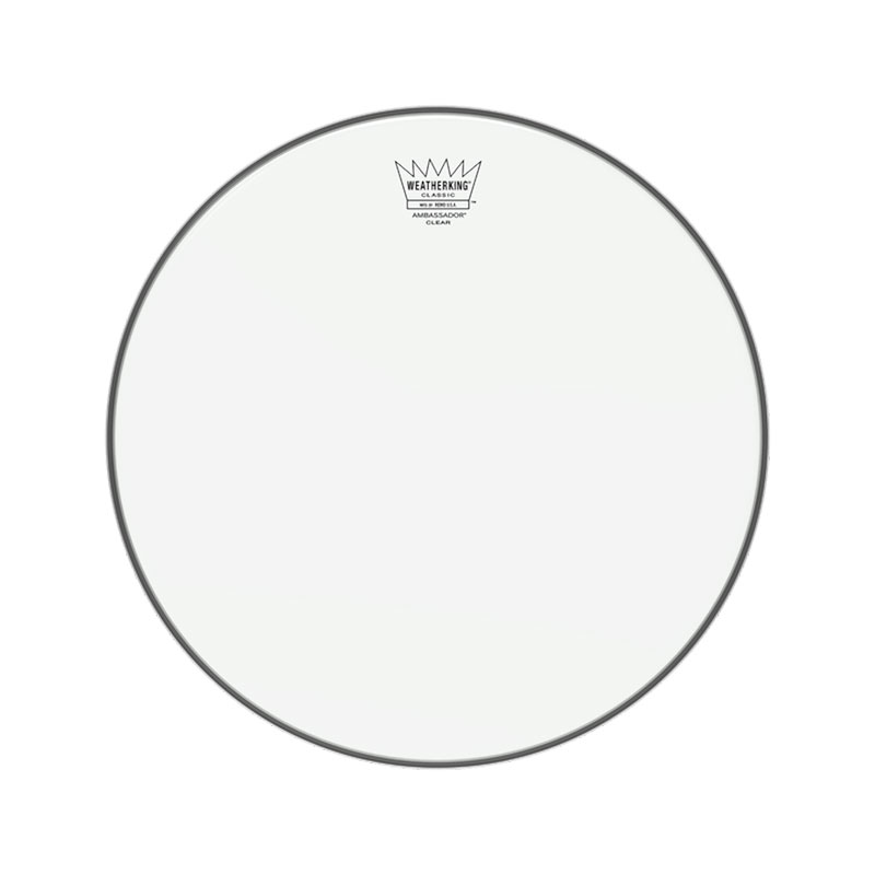 "Remo 13"" CL-0313-BA blana pre bicie Classic Fit Ambassador transparent"