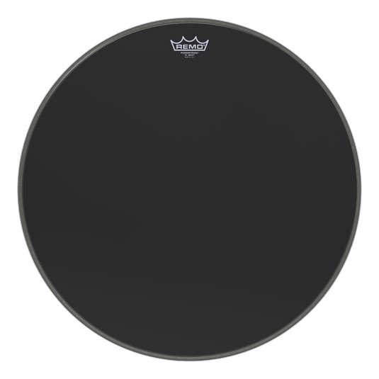 """Remo 22"""" BB-1822-ES blana pre bicie Emperor Black Suede basové bubny"""