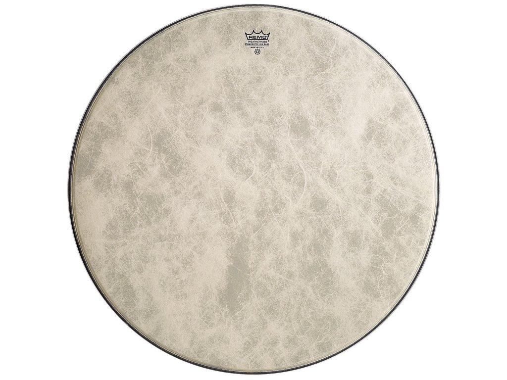 """Remo 26"""" BB-1826-ES blana pre bicie Emperor Black Suede basové bubny"""
