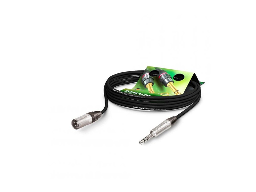 Sommer Cable MC The Stage, Black, 5,00m