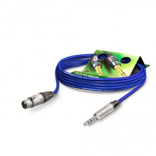 Sommer Cable MC The Stage, Blue, 0,50m