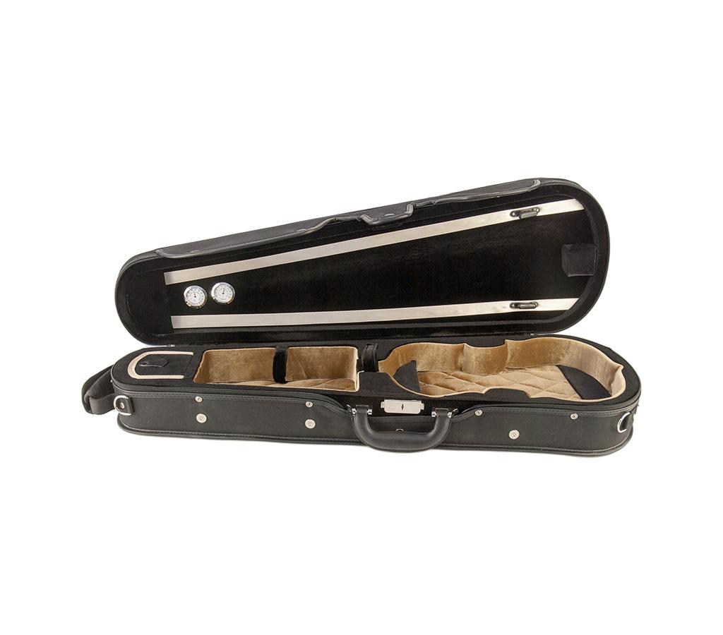 Petz violin case, violin-shaped