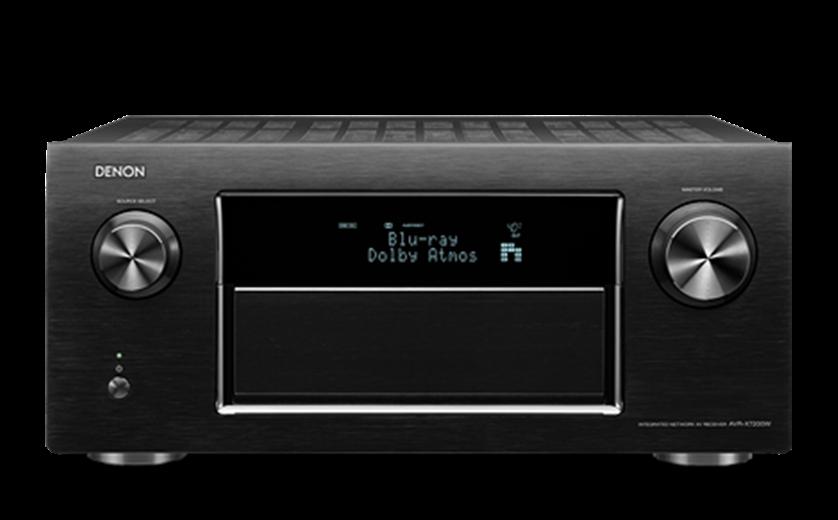 DENON AVR-X7200W Black