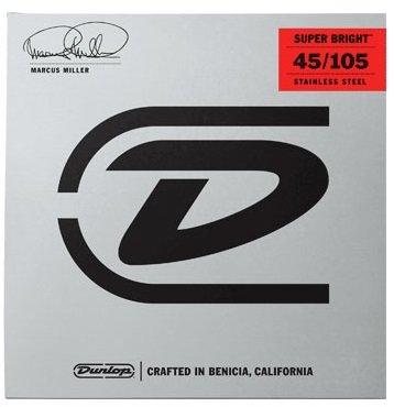Dunlop Marcus Miller Signature Strings, 45-105