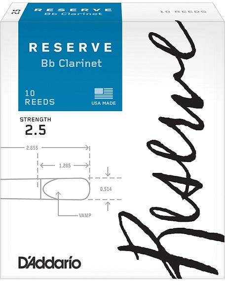 RICO DCR1025 RESERVE Bb klarinet 2.5