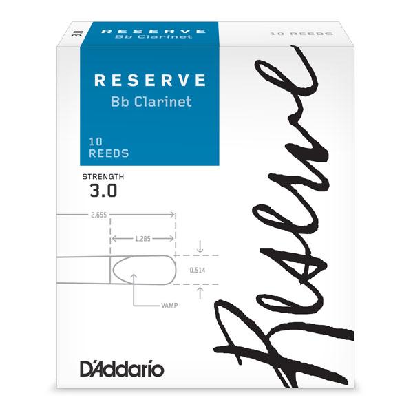 RICO DCR1030 RESERVE Bb klarinet 3.0