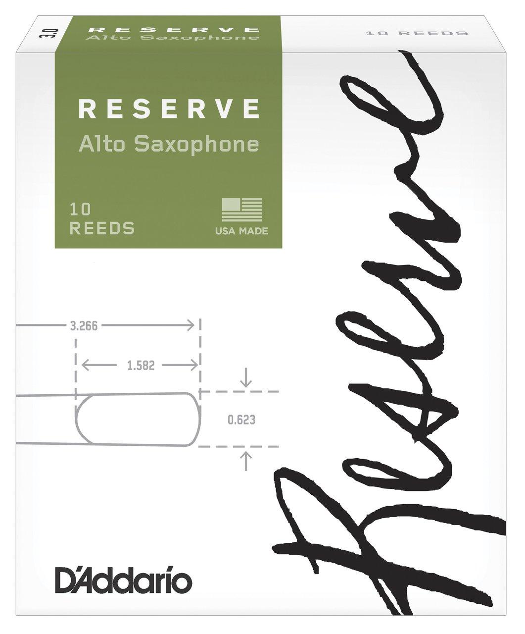 RICO DJR1025 RESERVE alt saxofon, 2.5
