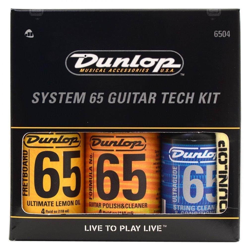 "Dunlop čistiaca sada ""Guitar Tech Kit"" na lak, struny a hmatník (3 prípravky)"