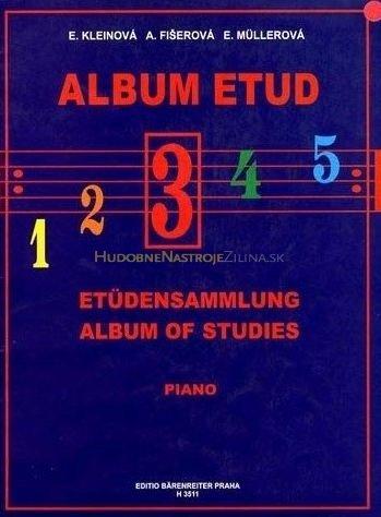 noty Baer Album etud III
