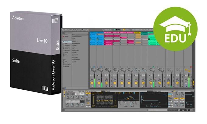 Ableton Live 10 Suite EDU (el. licence)