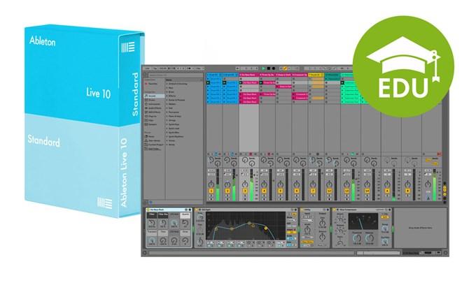 Ableton Live 10 Standard EDU (el. licence)