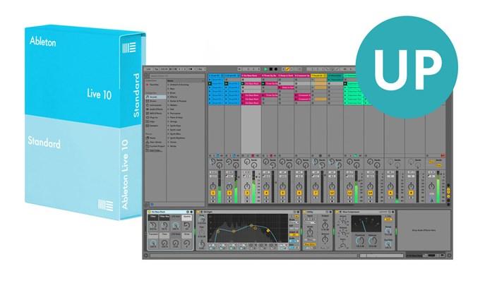 Ableton Live 10 Standard UPG z Lite (el. licence)