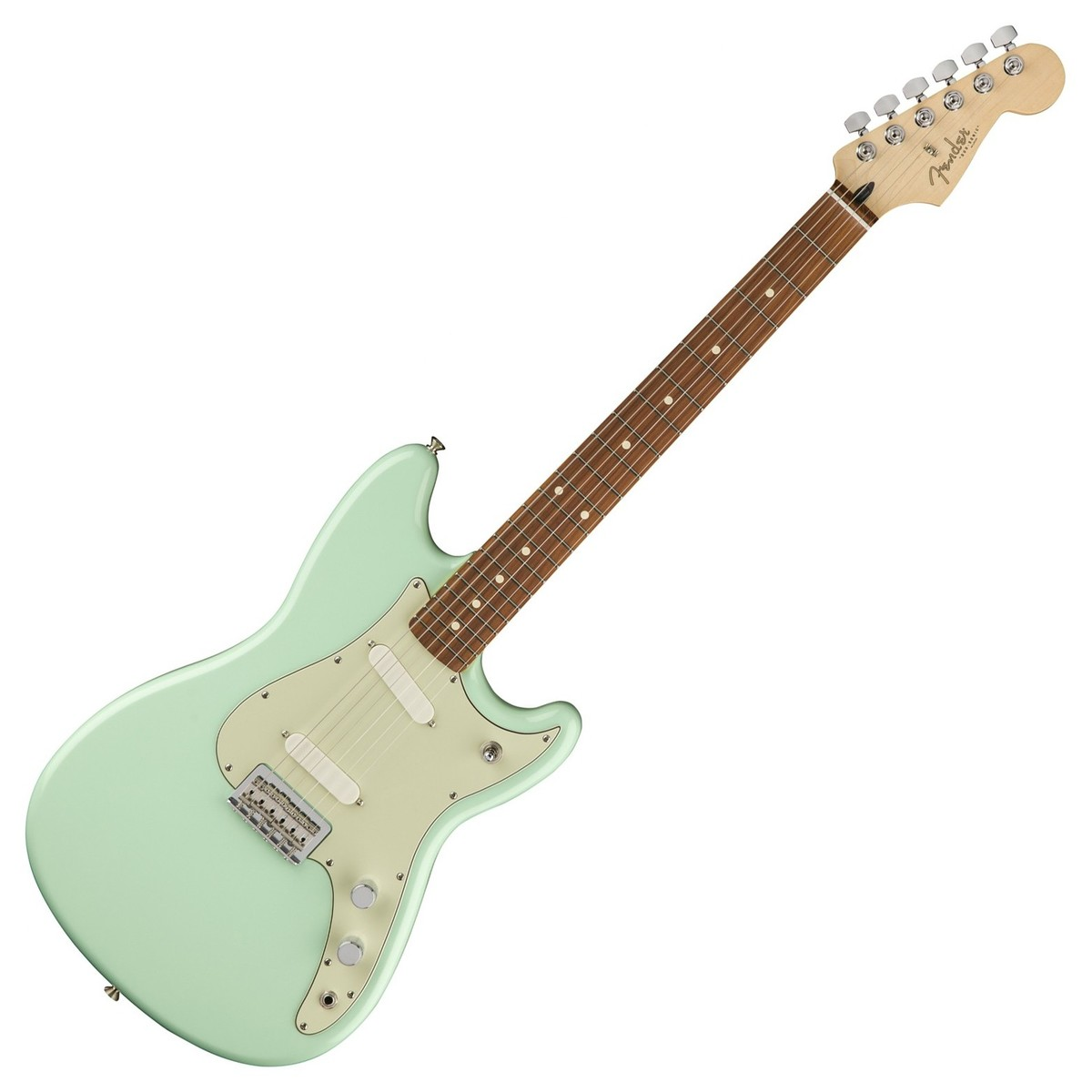 Fender Duo-Sonic, Pau Ferro Fingerboard, Surf Green
