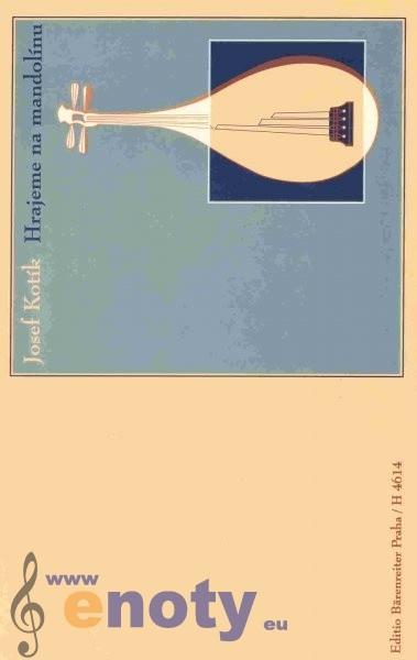 noty Baer Kotík Josef Hrajeme na mandolínu