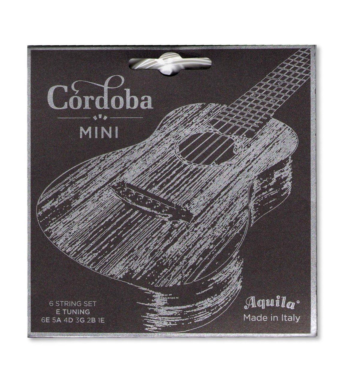 Cordoba struny pro MINI kytaru, E-ladění