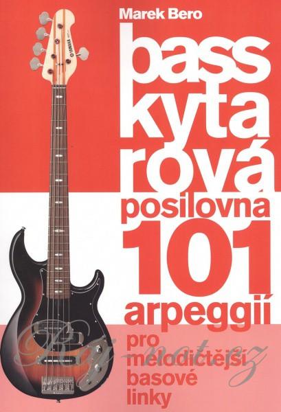 noty AUDIO Bass kytarová posilovna 2 - 101 arpegií - Marek Bero