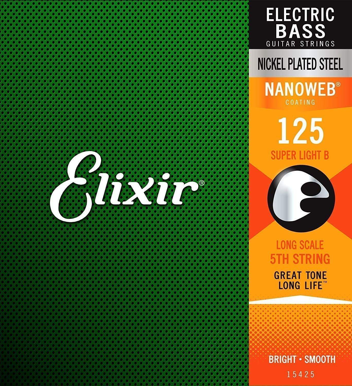 Elixir Super Light B, Long Scale .125