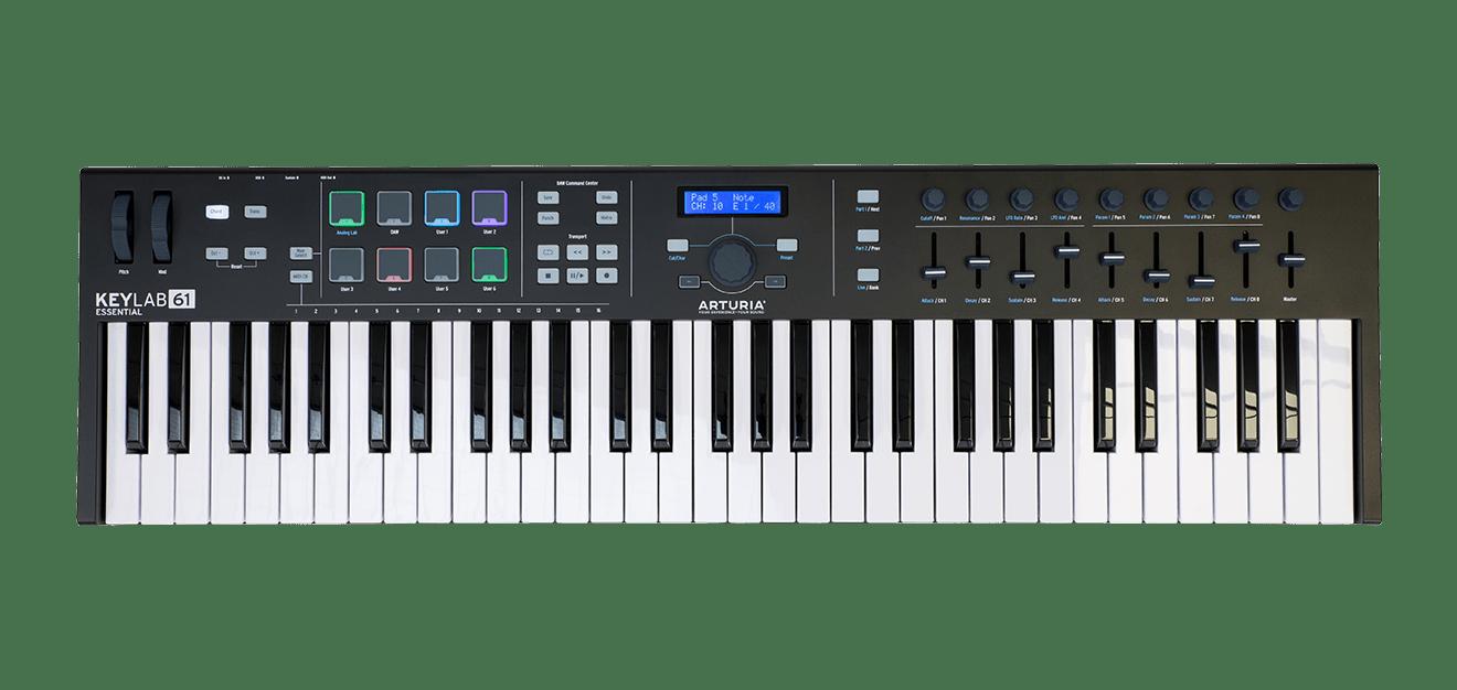 Arturia Keylab 61 Essential Black Edition
