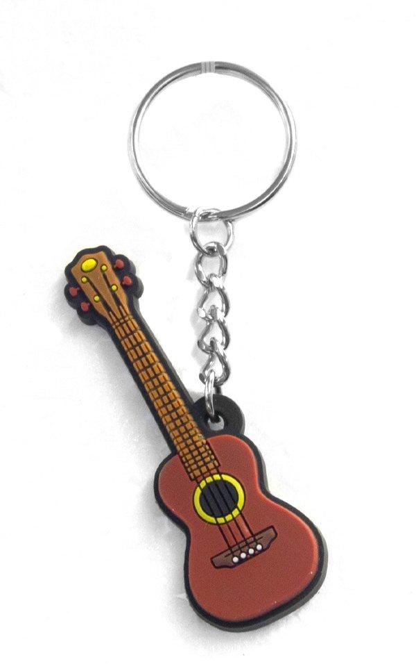 Musician Designer Music Key Chain Ukulele