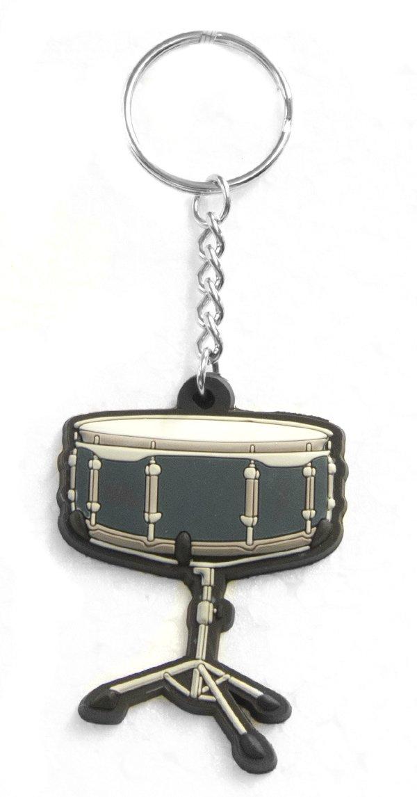 Musician Designer Music Key Chain Snare Drum