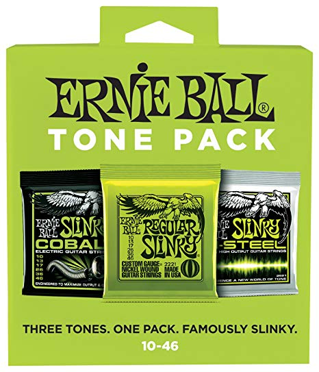 Ernie Ball Regular Slinky Electric Tone Pack