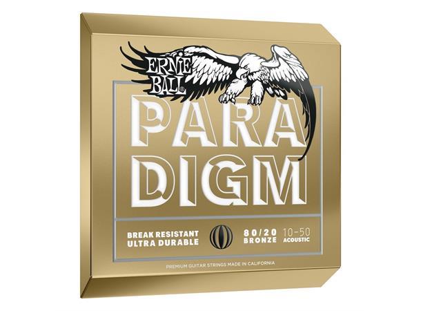 Ernie Ball Paradigm Extra Light 80/20 Bronze Acoustic Guitar Strings