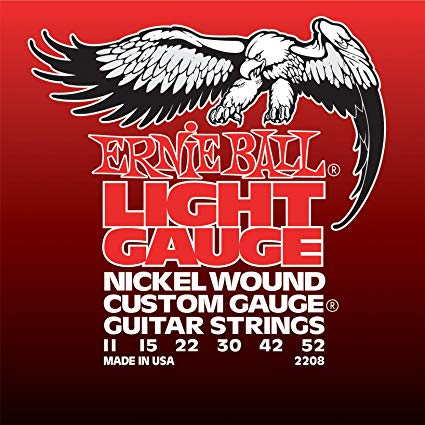 Ernie Ball Light Nickel Wound w/ wound G Electric Guitar Strings