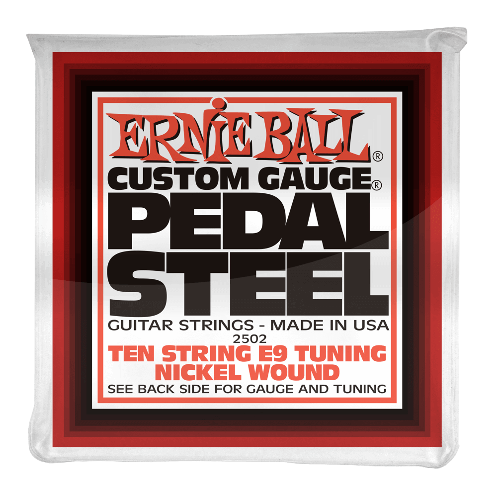 Ernie Ball Pedal Steel 10 - String E9 Tuning Nickel Wound Electric Guitar Strings
