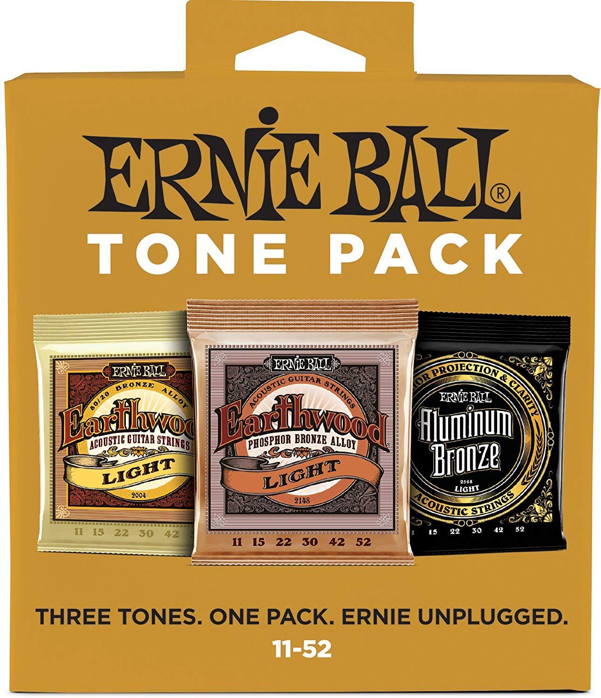 Ernie Ball Light Acoustic Tone Pack