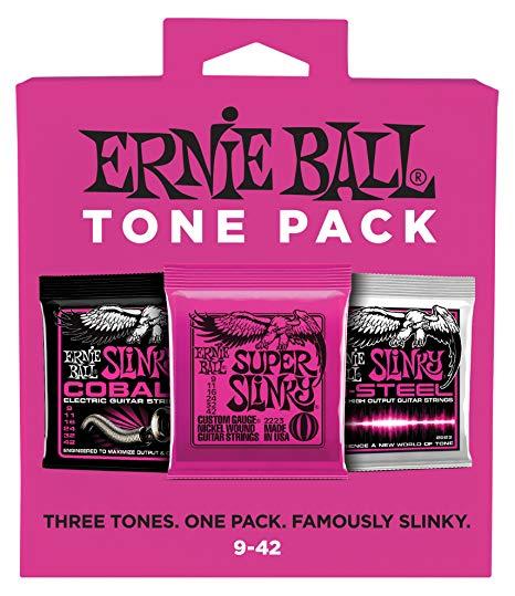 Ernie Ball Super Slinky Electric Tone Pack