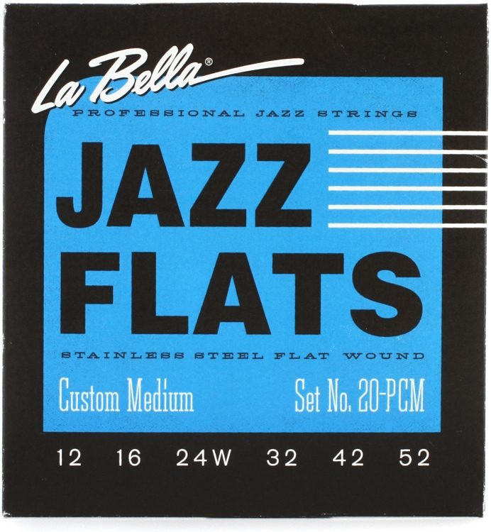 La Bella 20PCM - Jazz Flats