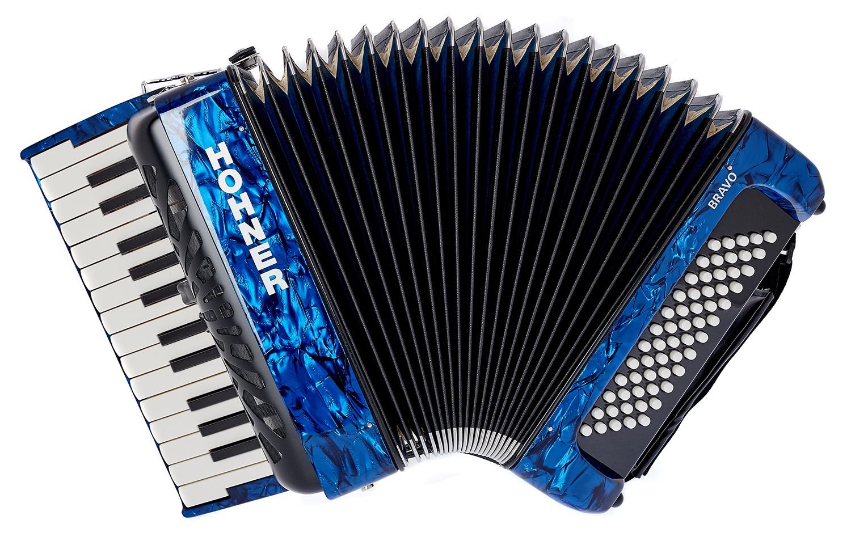 HOHNER Bravo II 60 dark blue Silent Key