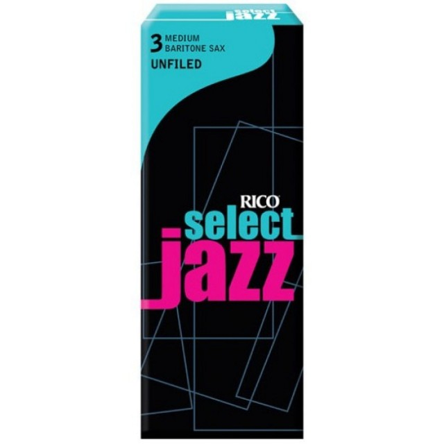 RICO RRS05BSX3M SELECT JAZZ baryton saxofon UNF, 3M