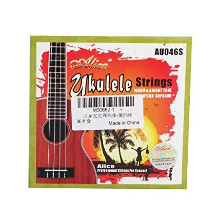 Alice AU046-S Soprano Ukuelele Strings