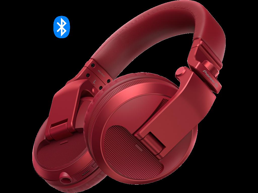 Pioneer Dj HDJ-X5BT Red