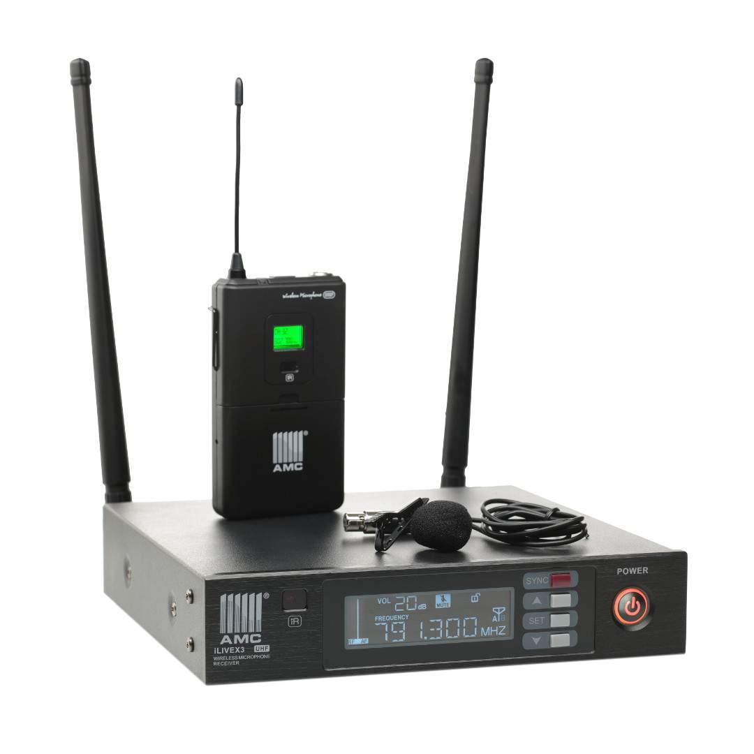 AMC iLive2 headset bezdrôtový mikrofón - sada EU