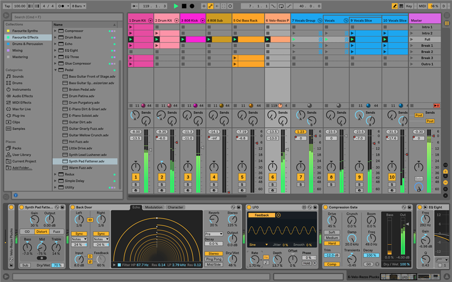 Ableton Live 10 Suite (el. licence)