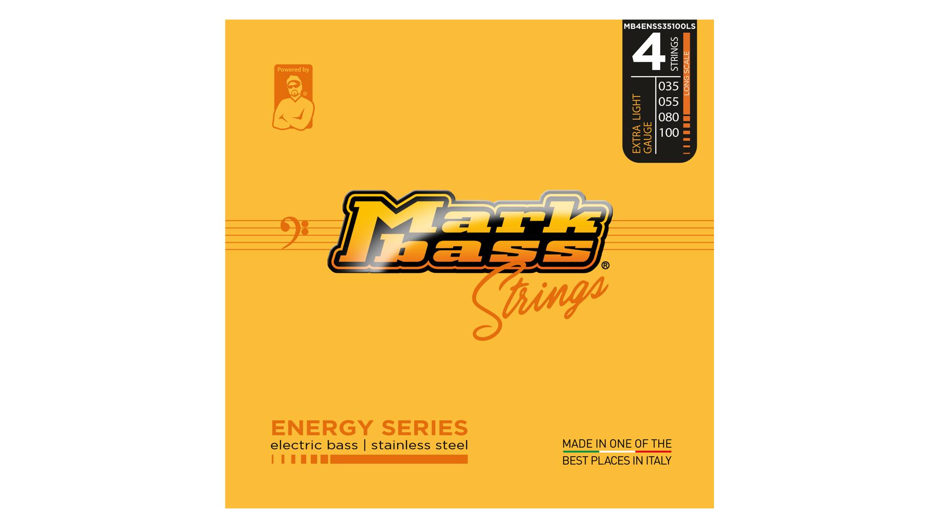 Markbass Electric Bass Stainless Steel 35 - 100