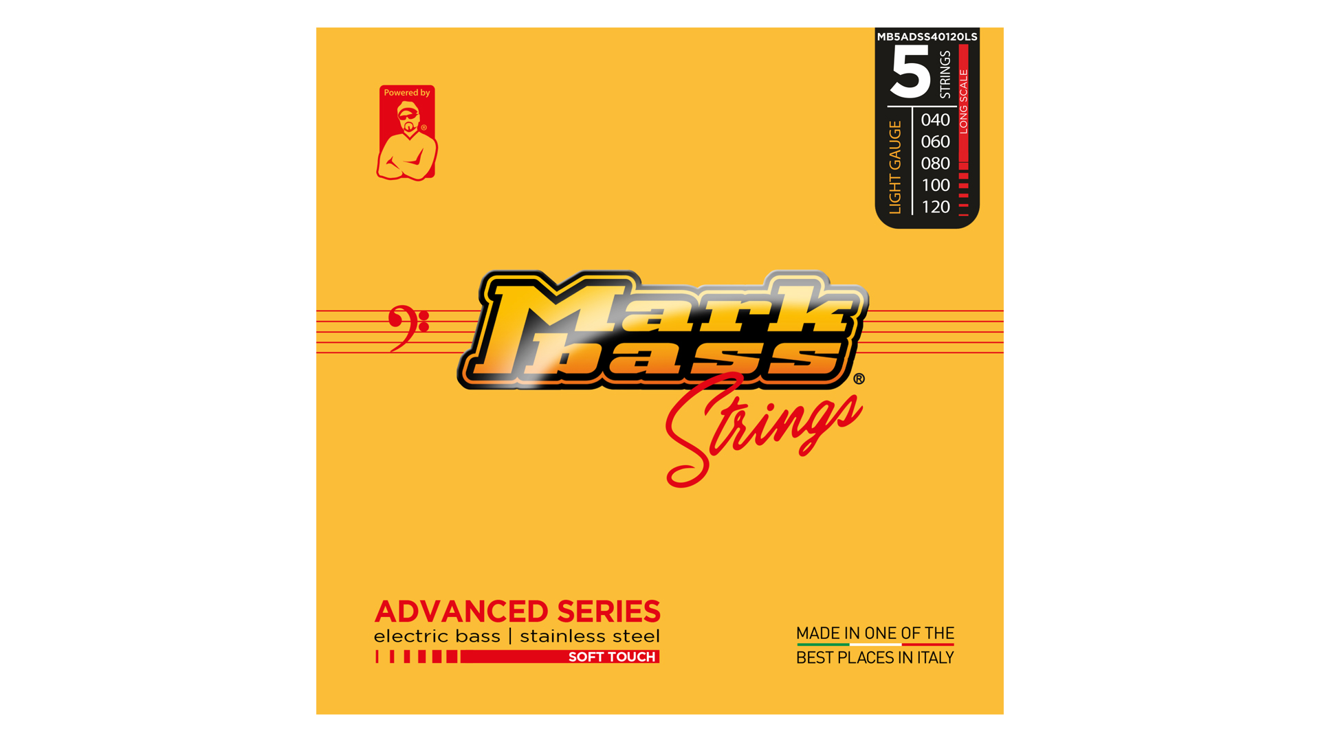 Markbass Advanced SS 5 040-120