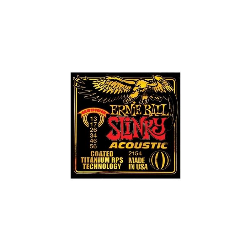 Ernie Ball 2154 Coated Tit. RPS Slinky 013-56