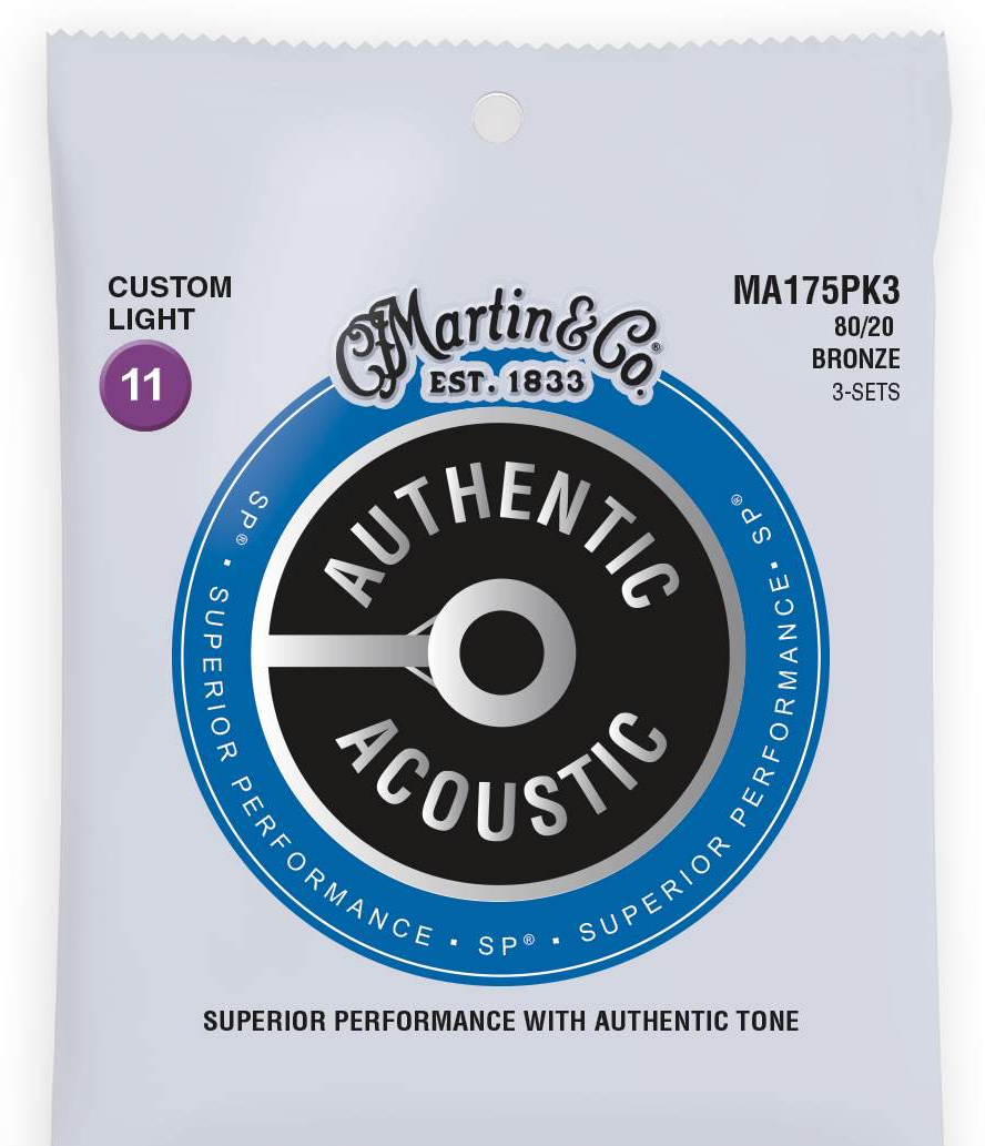 Martin Guitars MARTIN Authentic SP 80/20 Bronze Custom Light