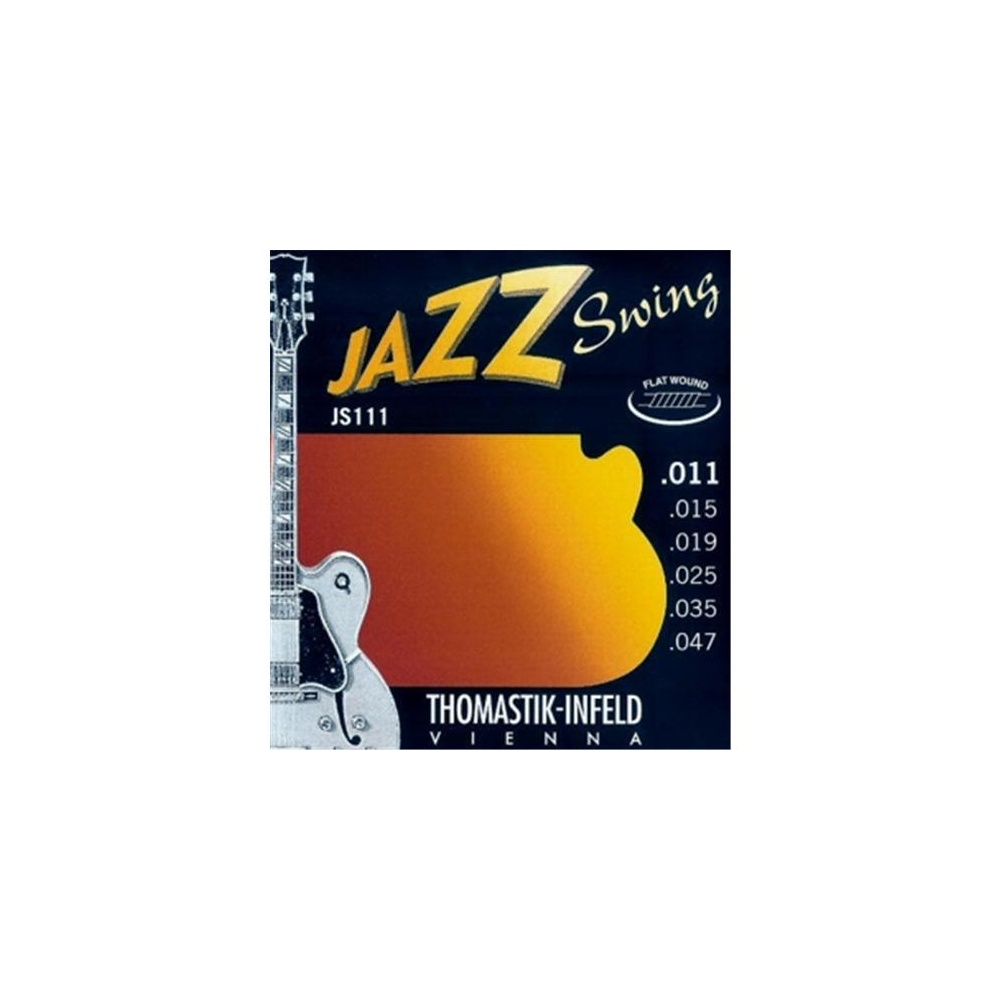 Thomastik JS111 Flat wound Jazz 011