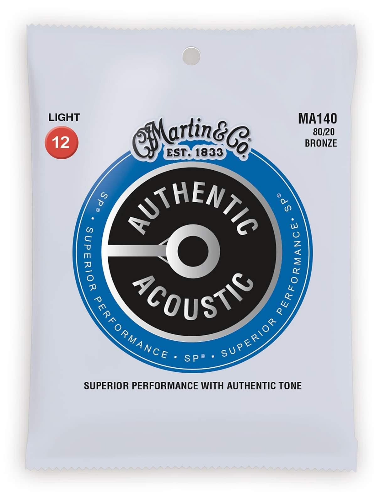 Martin Guitars MARTIN Authentic SP 80/20 Bronze Light 12