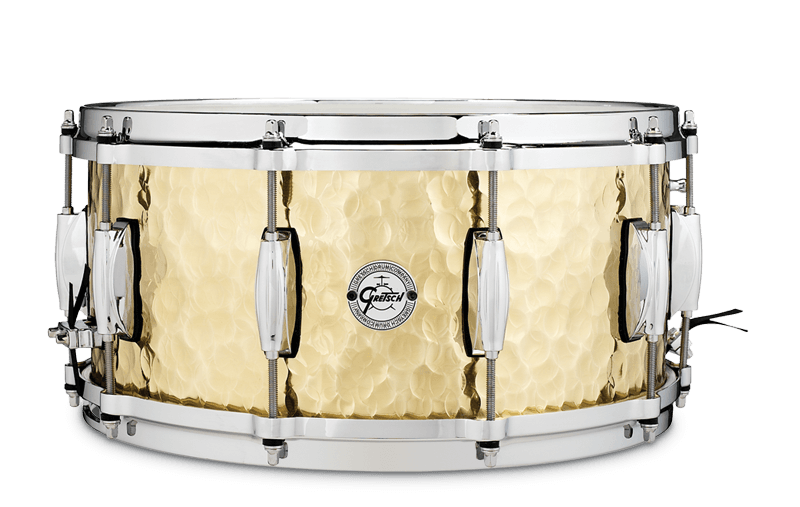 Gretsch drums Gretsch Snare Hammered Brass S1 6514-BRH
