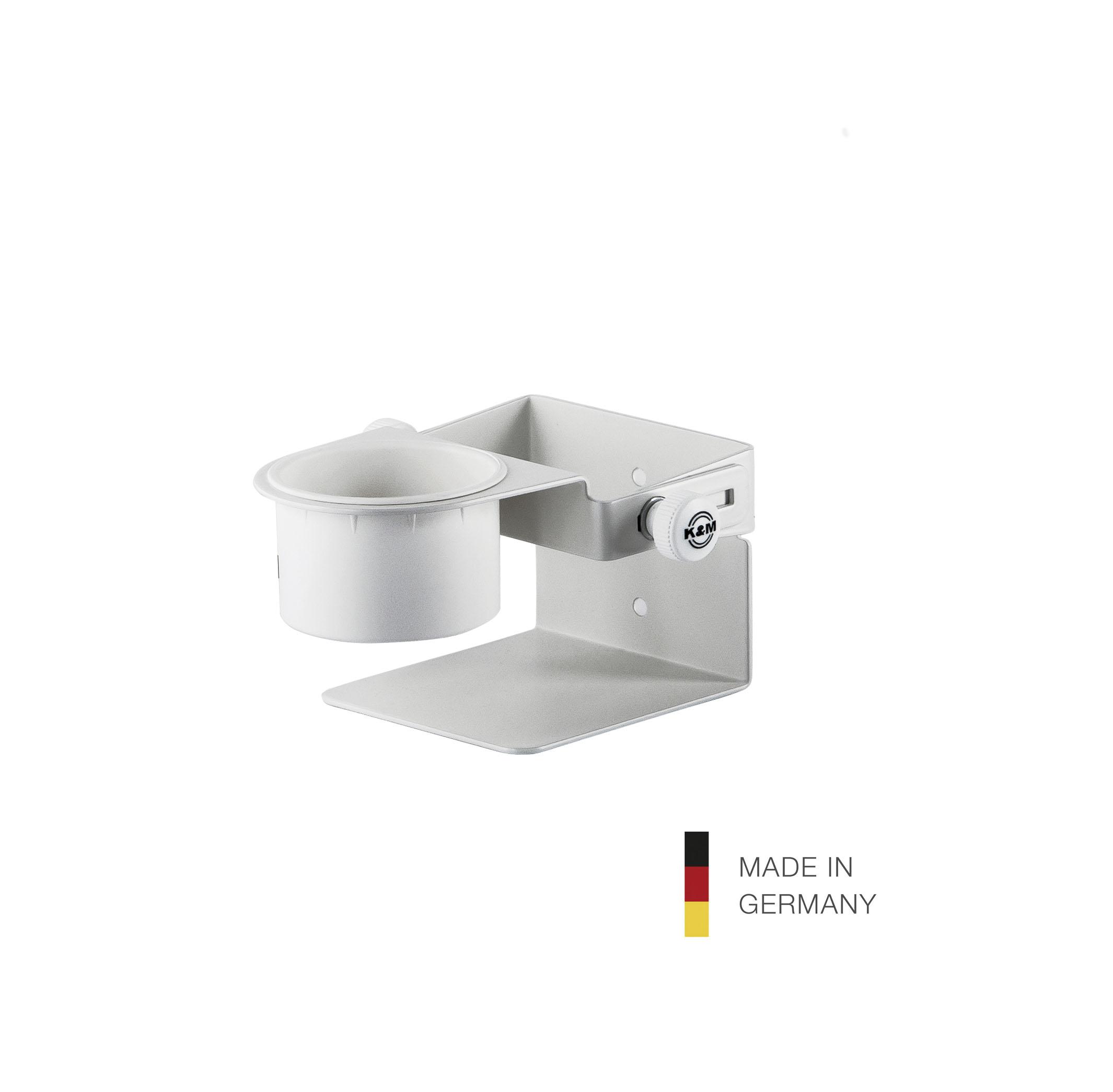 K&M 80370 Holder for disinfectant Pure White