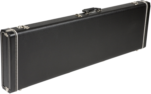Fender G&G Precision Bass Standard Hardshell Case, Black with Black Acrylic Interior