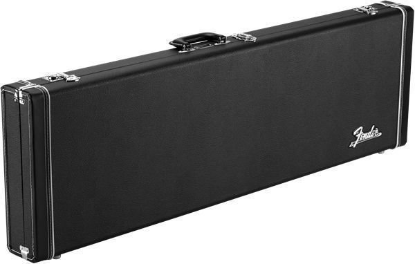 Fender Classic Series Wood Case - Mustang/Duo Sonic, Black