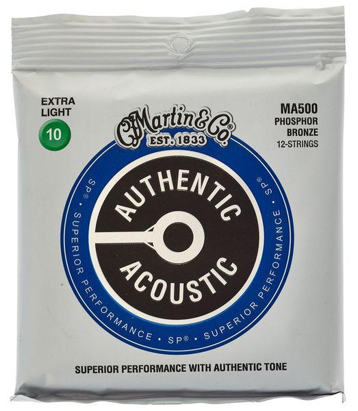 Martin Guitars MARTIN Authentic SP 92/8 Phosphor Bronze 12-String Extra Light
